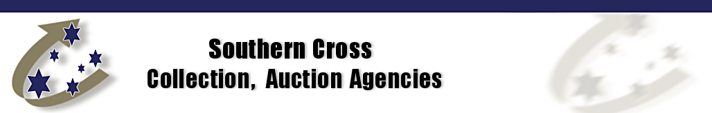 Southern Cross Collection, Auction Agencies Header with Logo